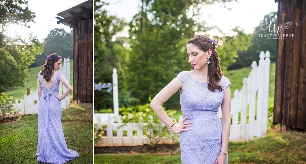 Outdoor wedding Lake Lure