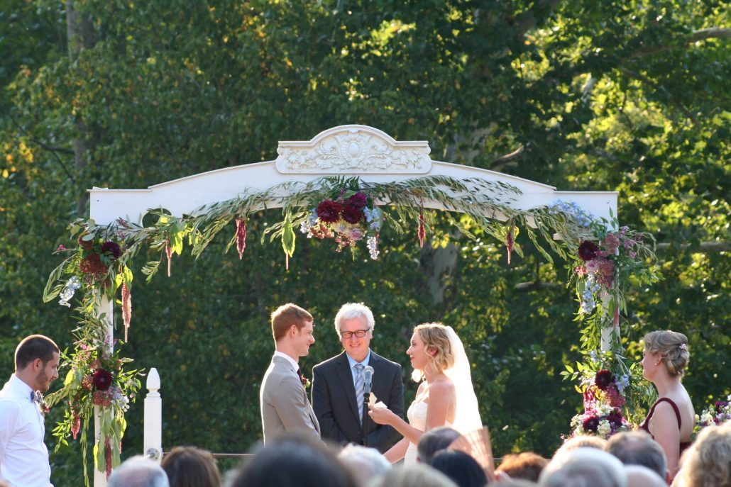Asheville fall wedding