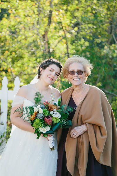 Outdoor wedding barn wedding